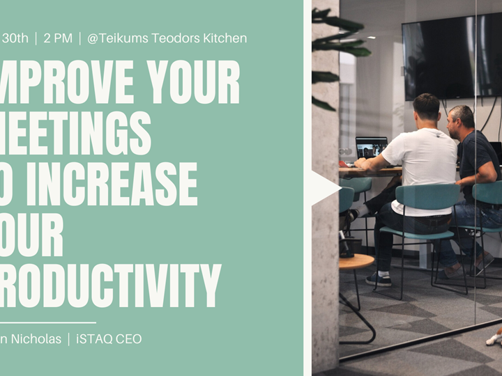 Improve Meetings to Increase Productivity // Austin Nicholas